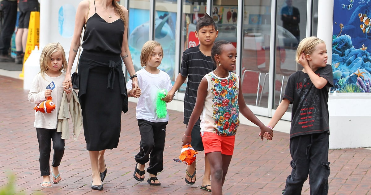 Angelina Jolie, Kids H...