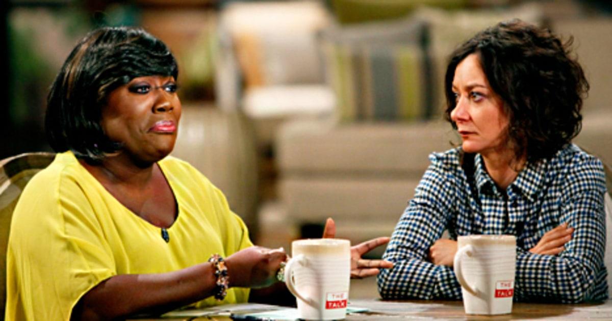 Sheryl Underwood The Talk Cohost Twin Sister Domestic