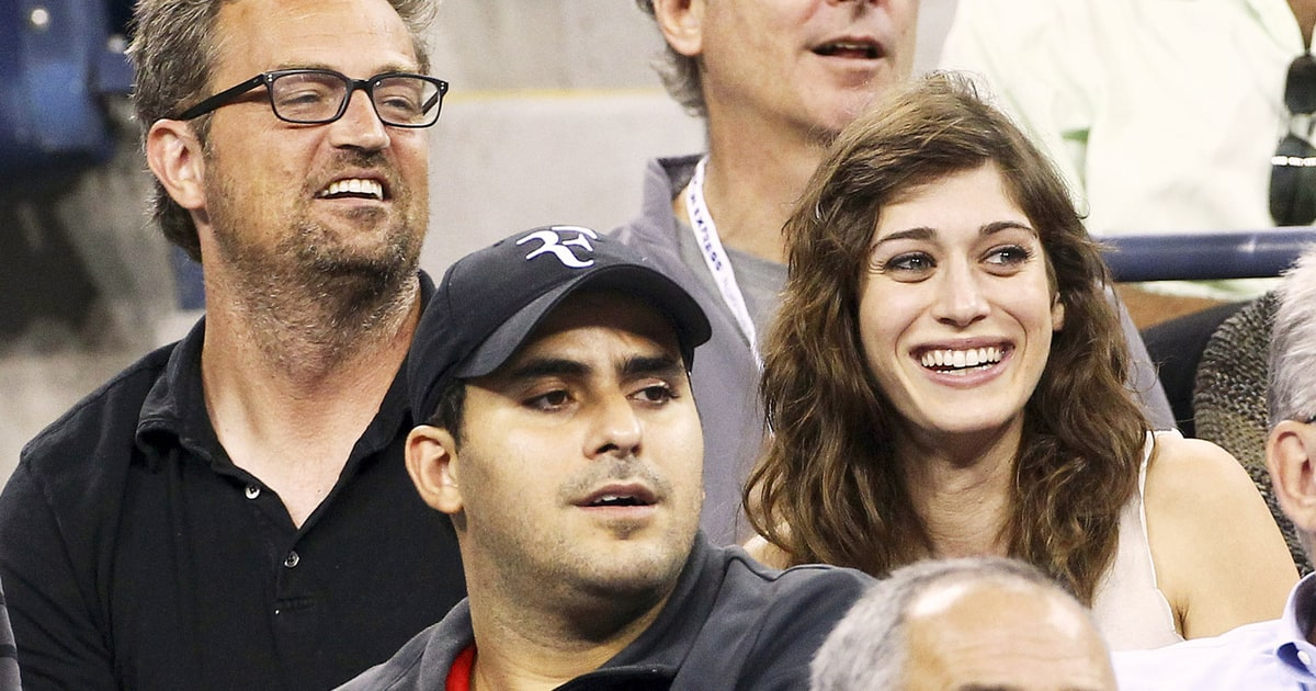 "Matthew Perry, Lizzy Caplan Split a ""Long Time"" Ago - Us ..."