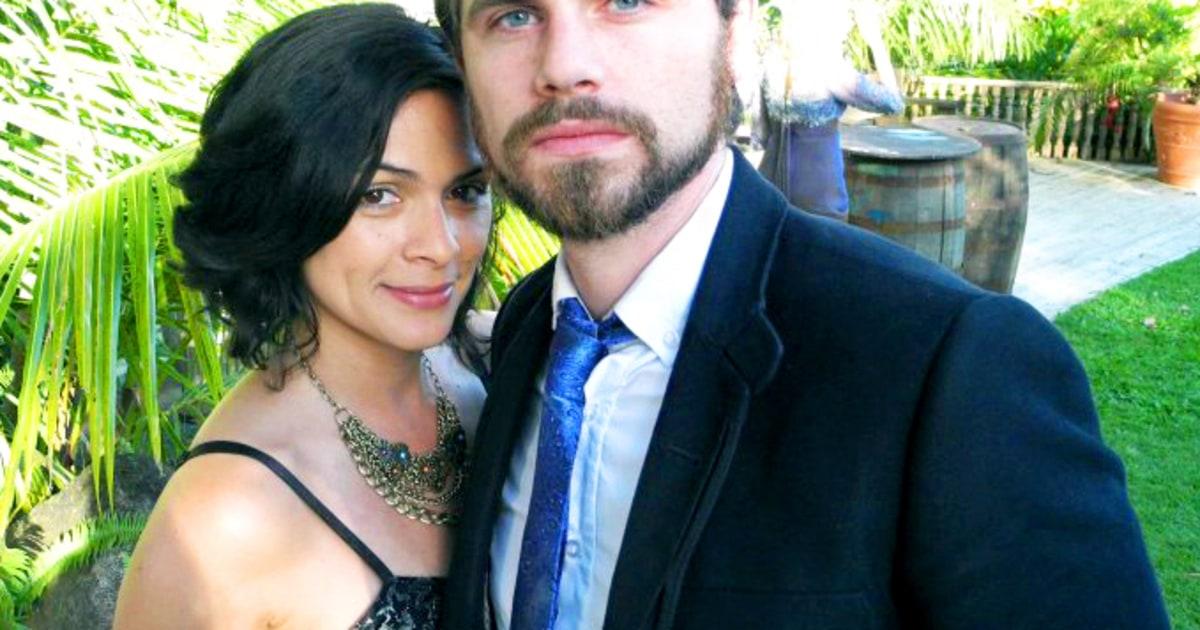 Marries alexandra barreto boy meets world star s wedding us weekly
