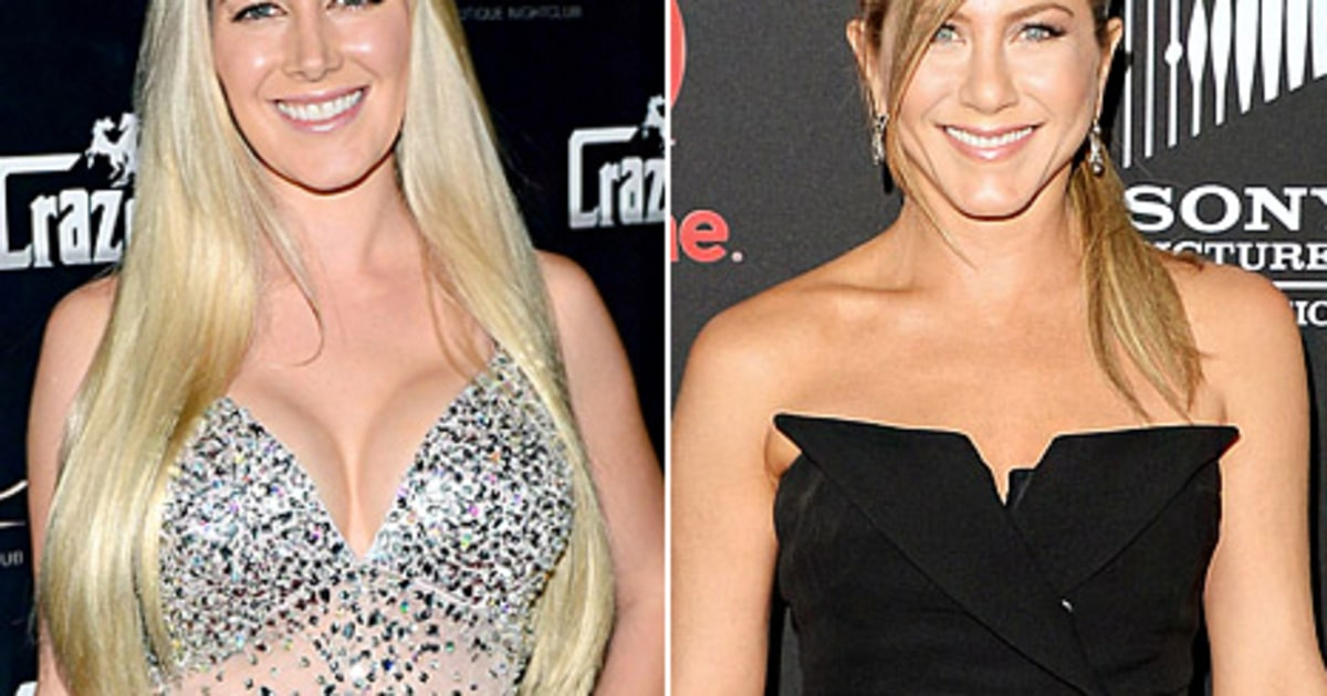 ... Removes F-Cup Implants; Jennifer Aniston's Drastic Hairdo - Us Weekly