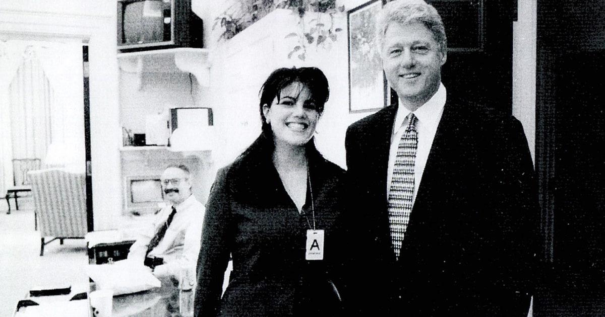 Clinton mamada monica