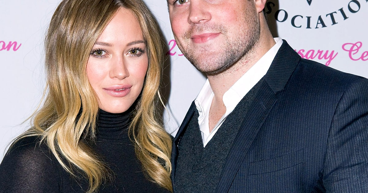 Hilary duff mike comrie split pair tried counseling spark was gone