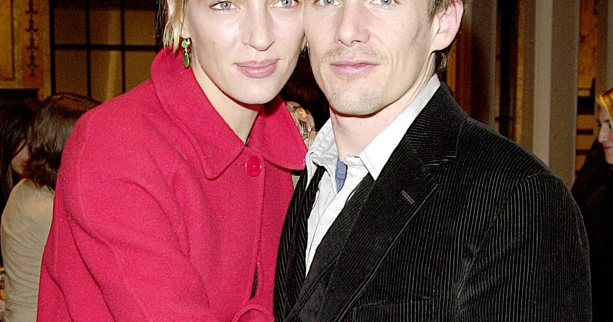 Ethan Hawke, Ex-Wife Uma Thurman Hang Out at Sundance Film ...