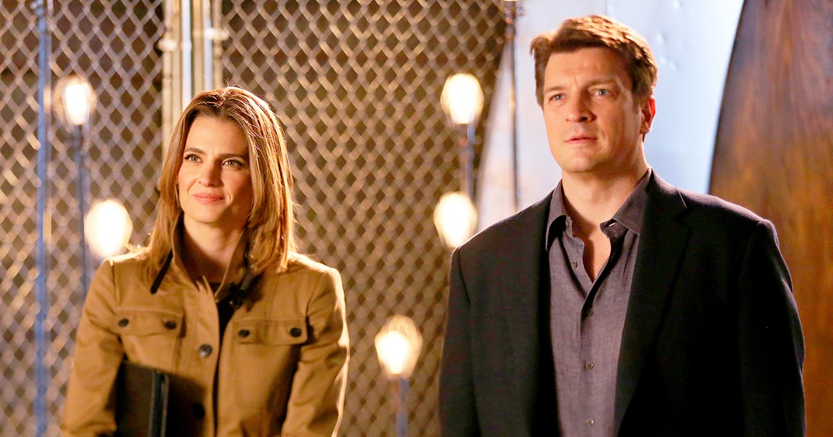 Castle S Stana Katic Nathan Fillion Feuding Attended