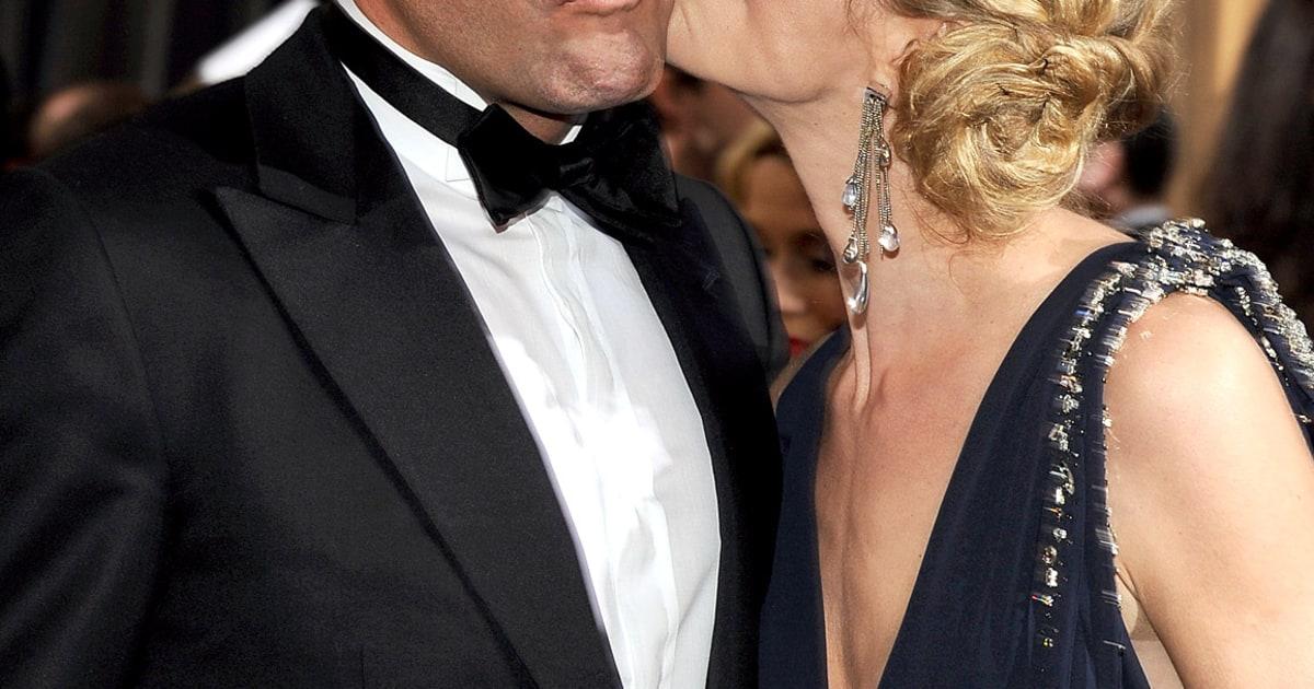 Jean dujardin and alexandra lamy celebrity oscars pda for Alexandra dujardin