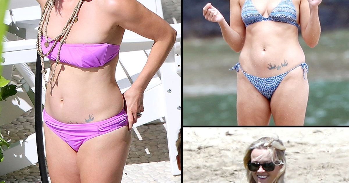 Reese witherspoon s bikini body through the years reese witherspoon