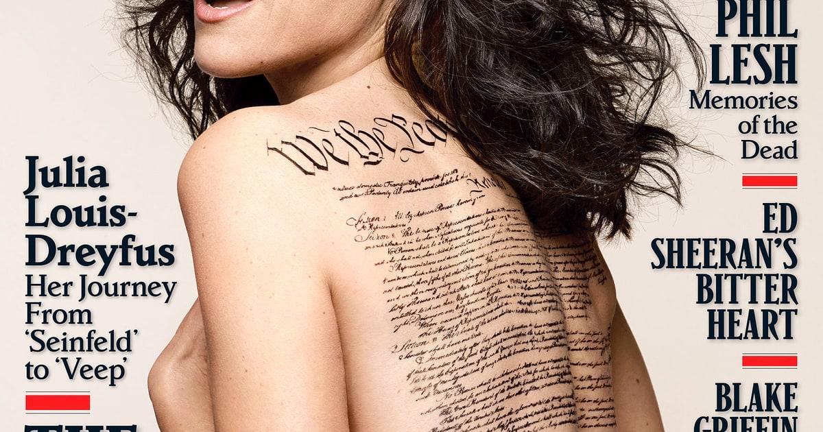 Pop Minute - Julia Louis Dreyfus Nude Rolling Stone Photos