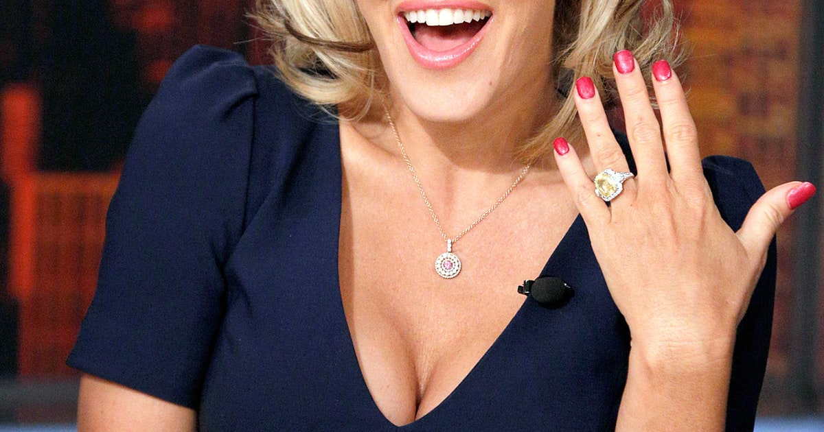 Jenny Mccarthy Best Celebrity Engagement Rings Of All