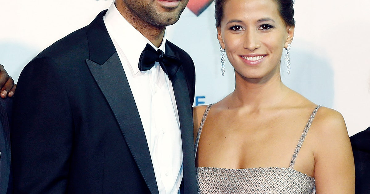 Tony Parker Welcomes Son Josh With Fiancee Axelle Francine - Us Weekly Tonyparker