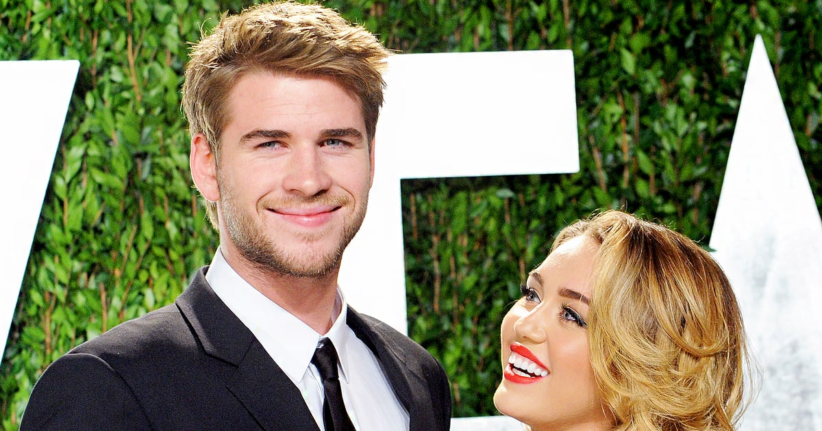 Liam Hemsworth Joins Miley Cyrus' Family for Christmas ...