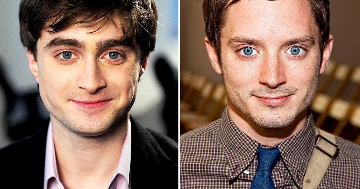 Daniel Radcliffe and Elijah Wood | Celeb Look-Alikes! | Us ...