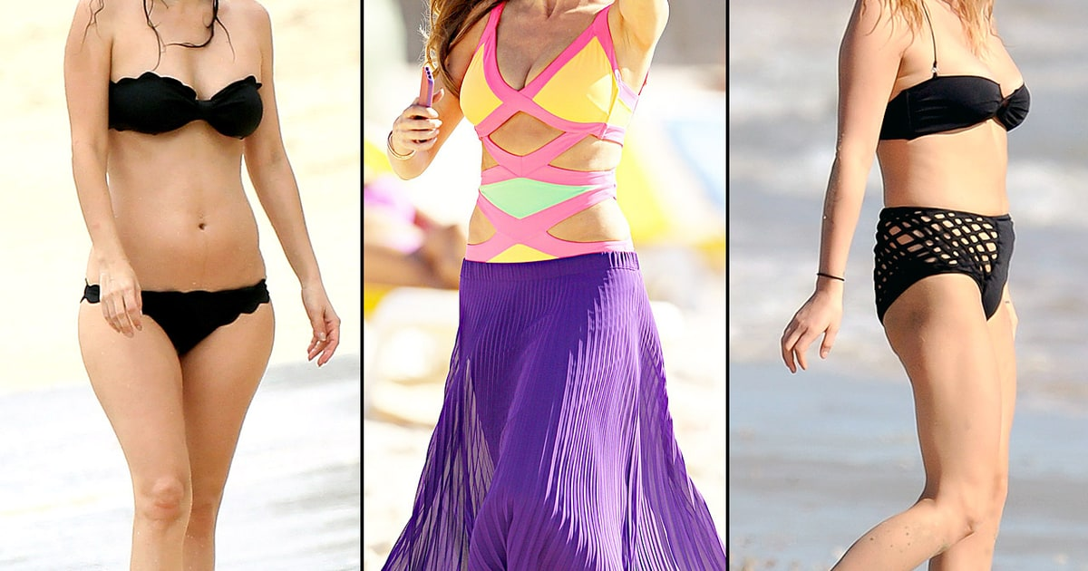 Celeb Swimsuits for Every Body Shape