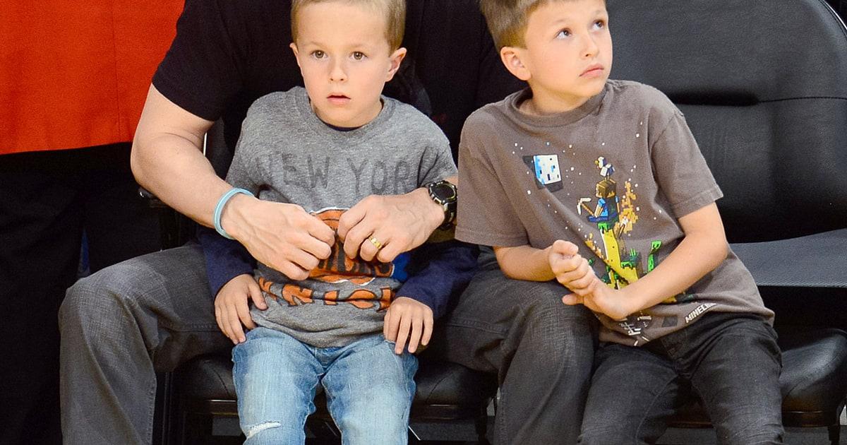 Mark Wahlberg Celebrity Dads Bond With Their Kids