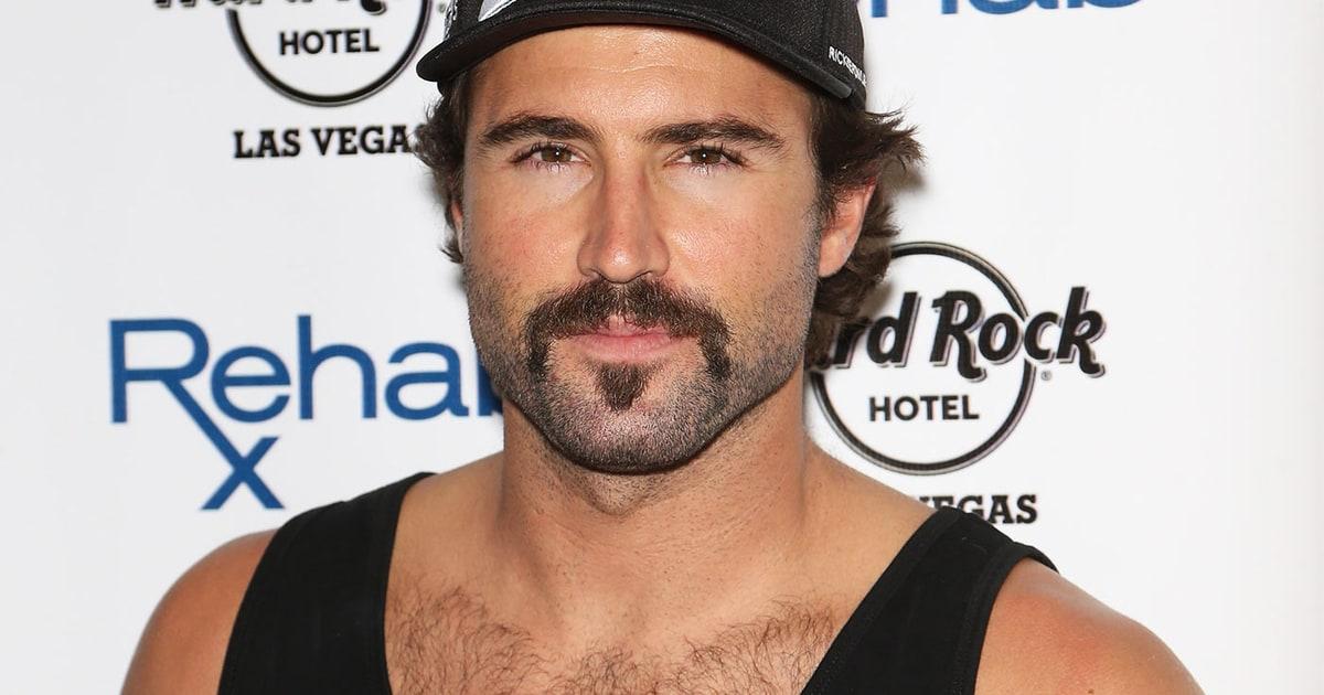 Brody Jenner Sculpts Mustache Goatee For Las Vegas Dj Gig