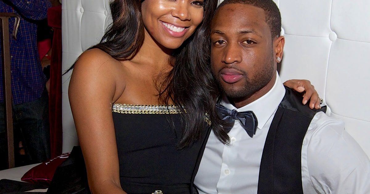 Gabrielle Union Dwyane Wade Married Actress Basketball