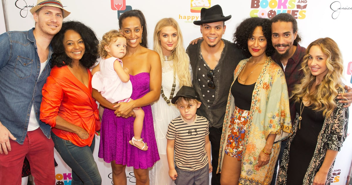 Diana Ross, Ashlee Simpson Support Family at Book Store ...