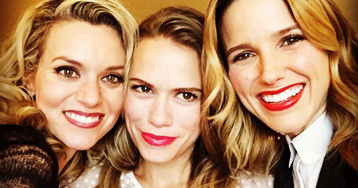 One Tree Hill's Sophia Bush, Hilarie Burton, Bethany Joy ...  One Tree Hill&#...