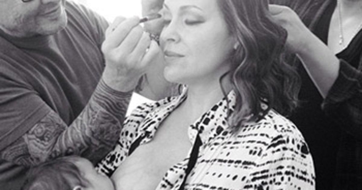 Alyssa milano exposes her breasts - 3 6