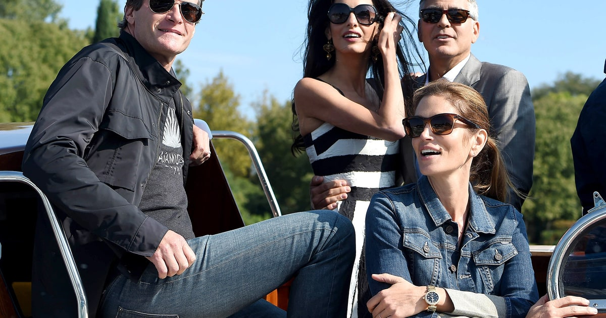 George Clooney Amal Alamuddin Spend Holidays With The