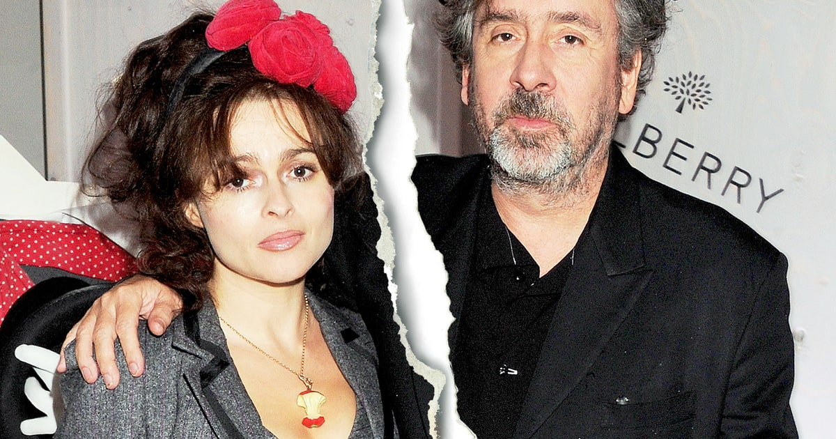 helena bonham carter tim burton split after 13 years together us weekly. Black Bedroom Furniture Sets. Home Design Ideas