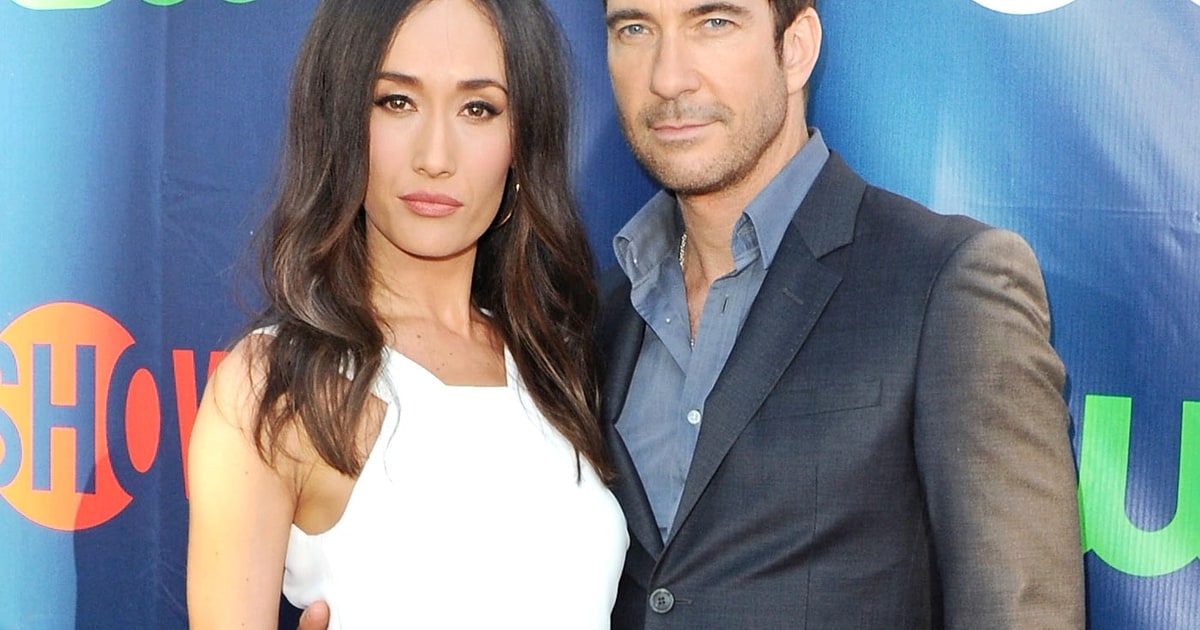 are dylan mcdermott and maggie dating