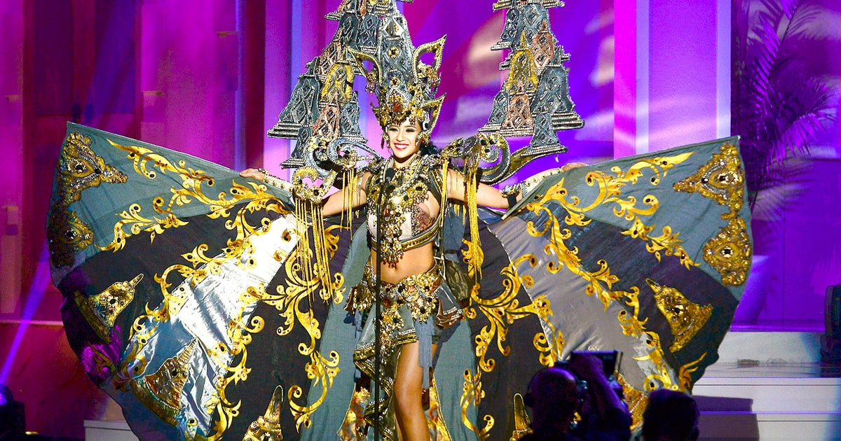 Miss Indonesia Wins Best Costume In Miss Universe 2015