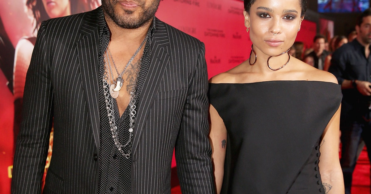Zoe Kravitz Responds To Katy Perry Grinding On Dad Lenny