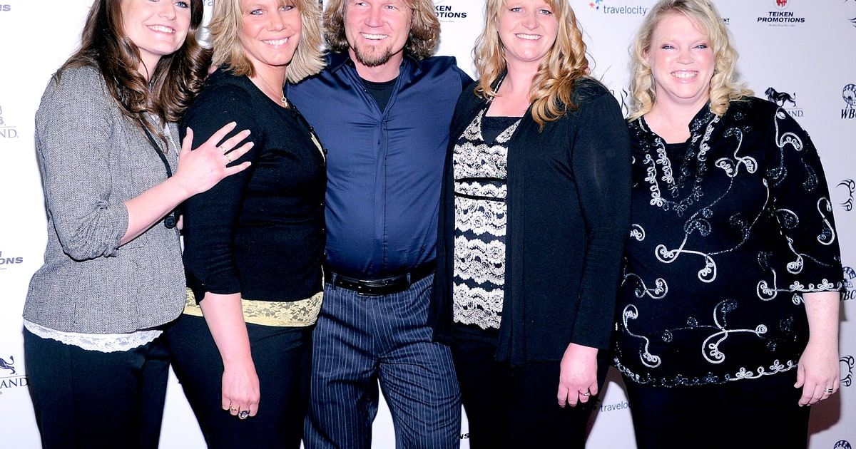 Sister Wives Kody Brown Divorces Wife Meri, Marries Youngest Robyn ...