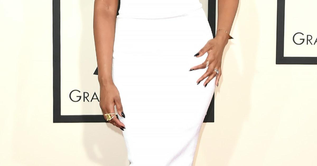 Jennifer Hudson Grammys 2015 Red Carpet Fashion What