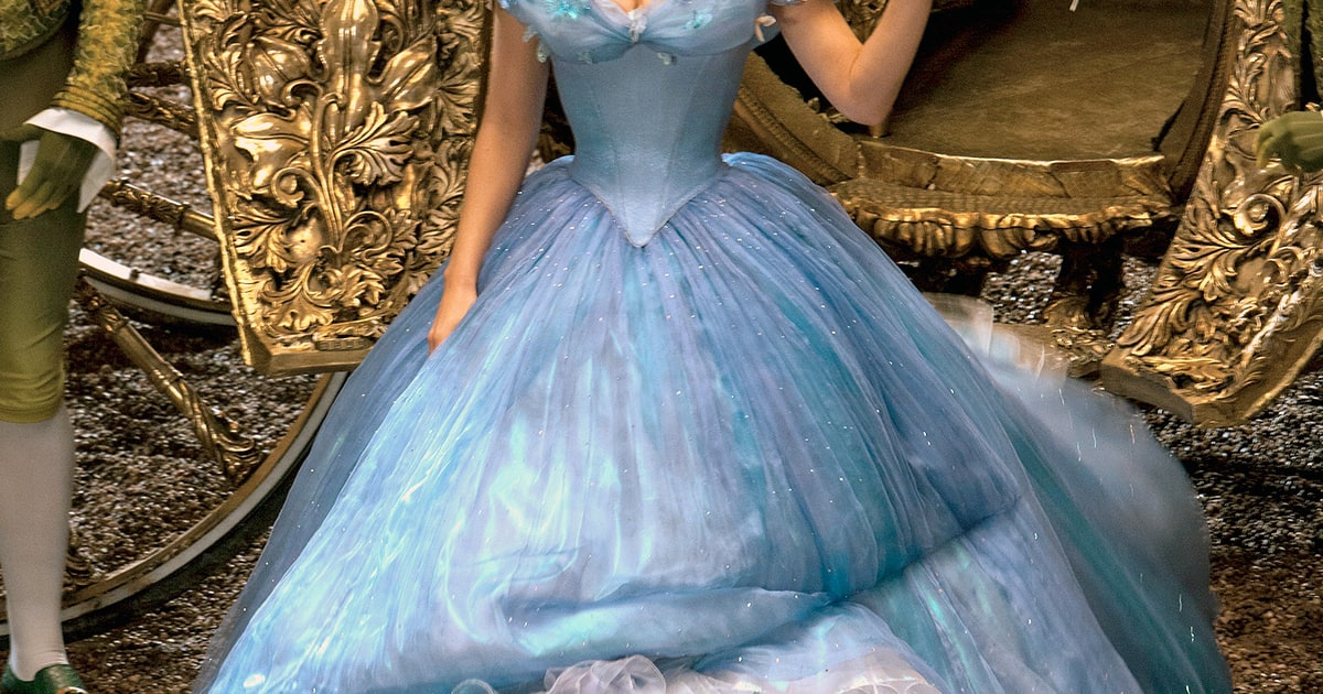 Cinderella S Dresses For Lily James Details From The