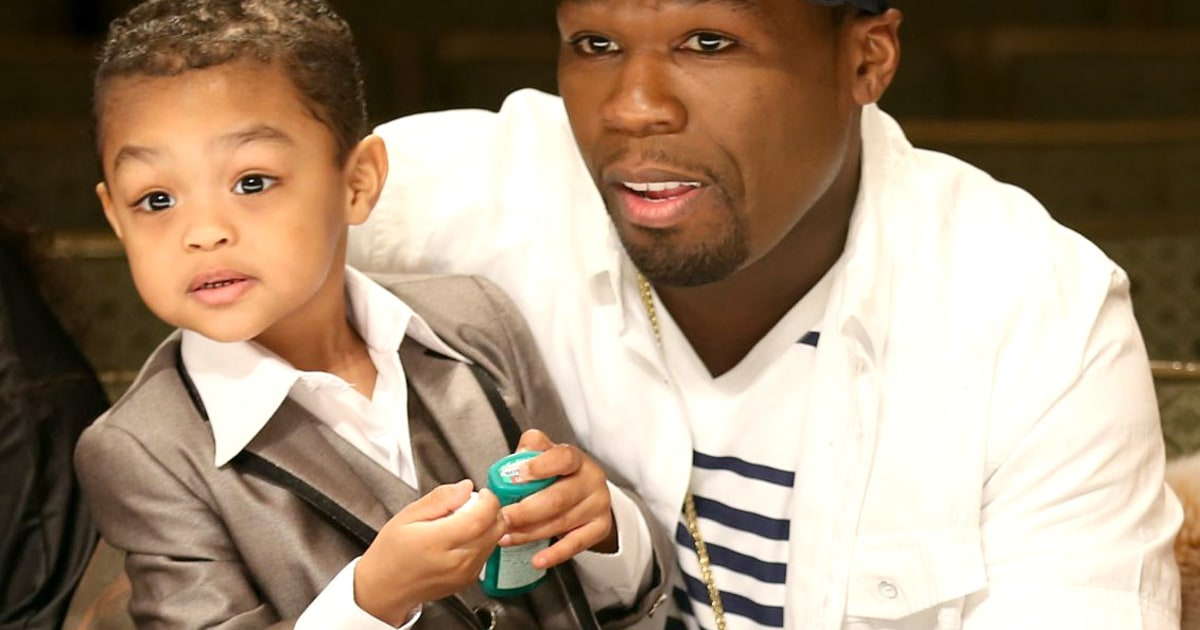 50 cent son dating