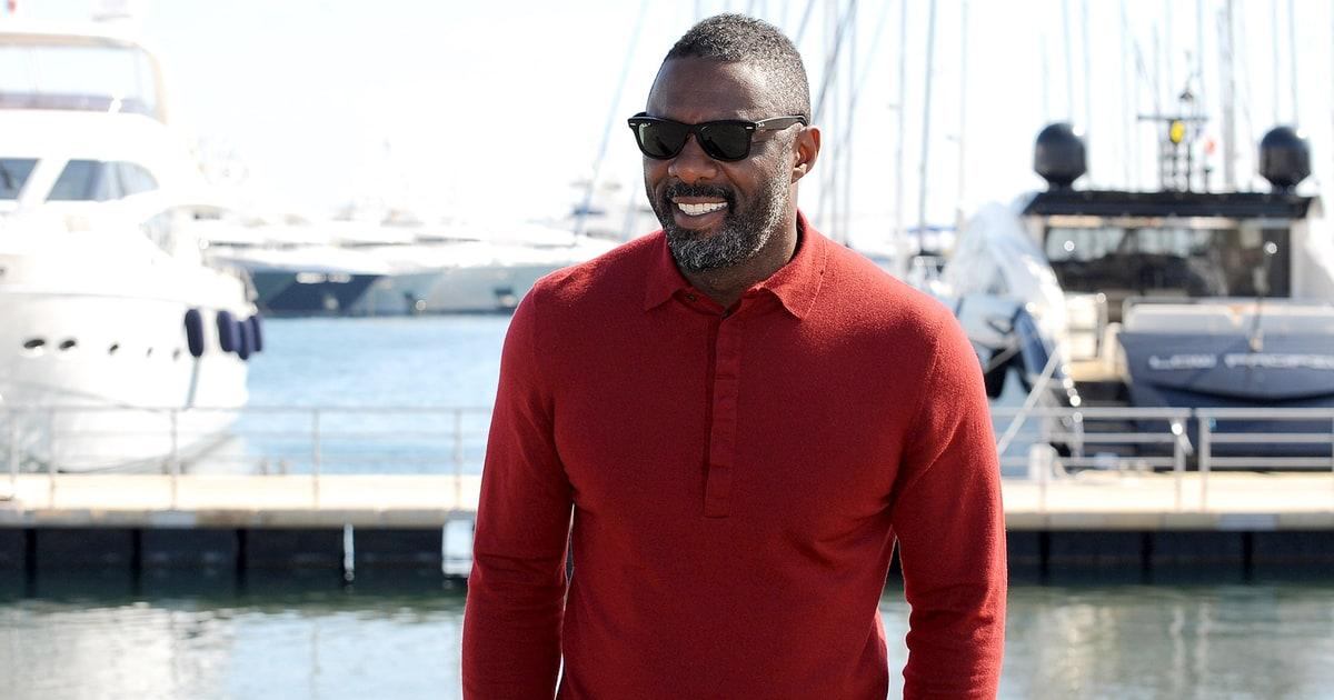 Idris Elba Cannes Do Spirit Hot Pics Us Weekly