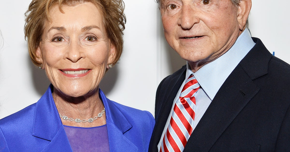 judge judy is great in bed says her husband us weekly