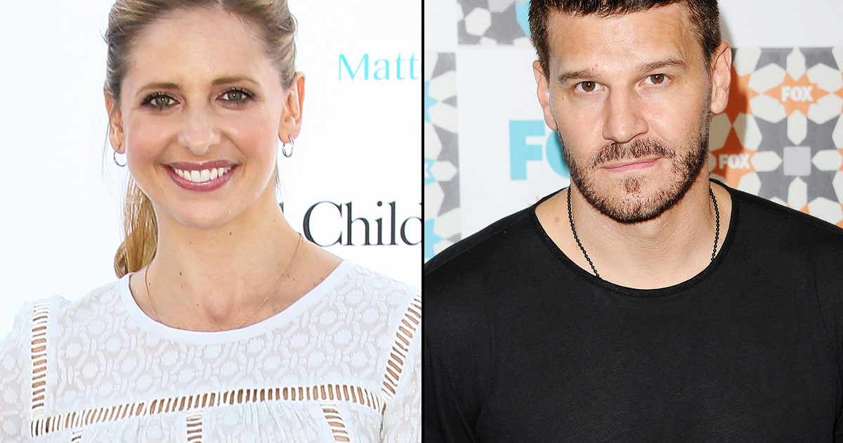 Sarah Michelle Gellar Calls David Boreanaz My Angel, Buffy ...