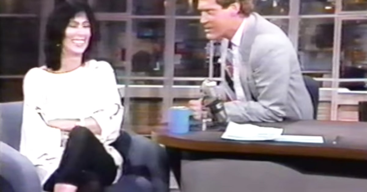 Cher david letterman s most memorable late show guests us weekly