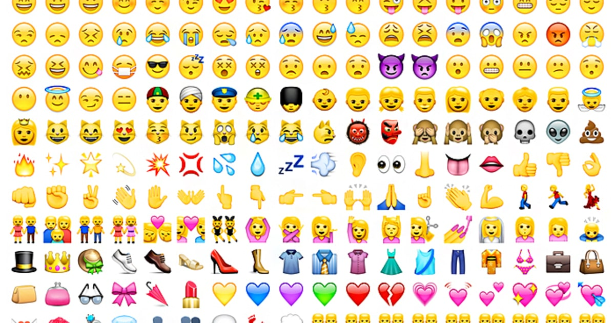 38 new emojis will be released in 2016 but theres still