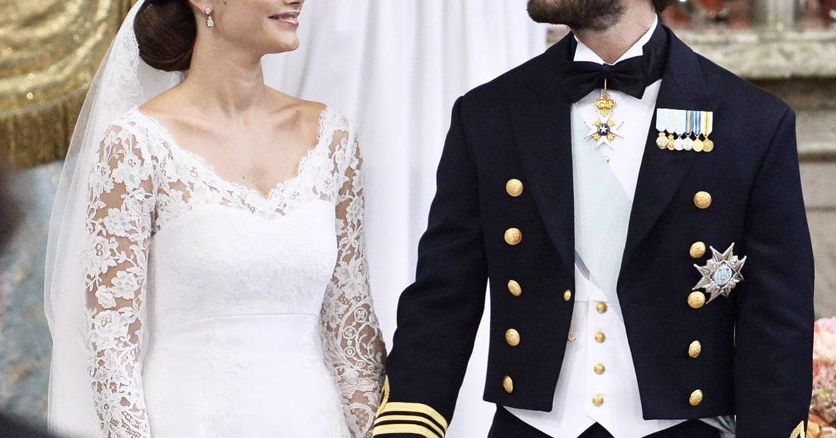 Swedish Royal Heir Carl Philip Marries Former Lingerie