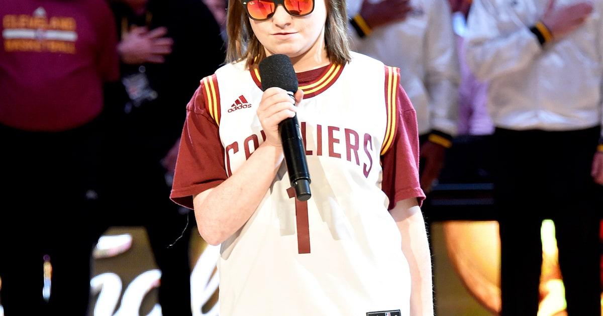 Blind Teen Marlana VanHoose Sings National Anthem at NBA Finals Game 6 - Us Weekly