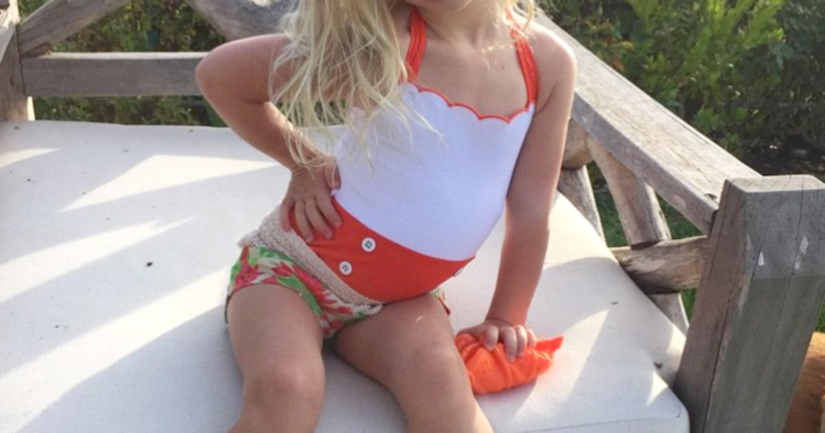 Little Model Jessica Simpson And Eric Johnson S Fun Life