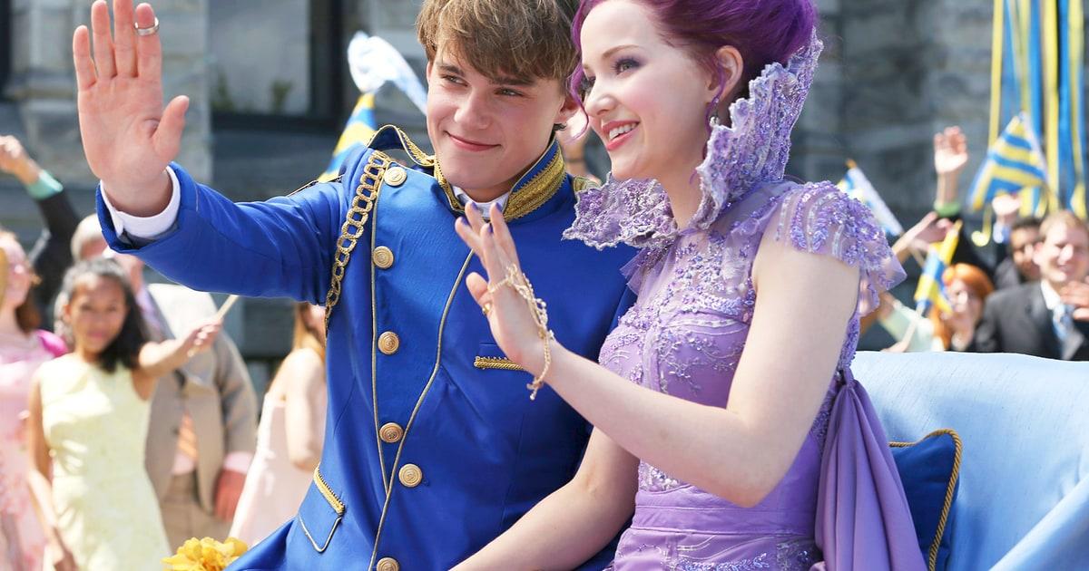 Descendants Costume Designer Used The Royal Wedding As