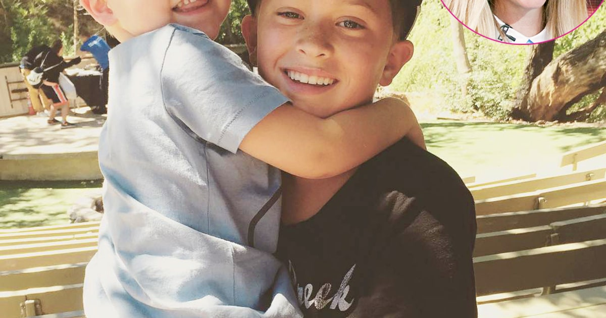 Reese Witherspoon Shares Sweet Photo Of Sons Reunited Us Weekly