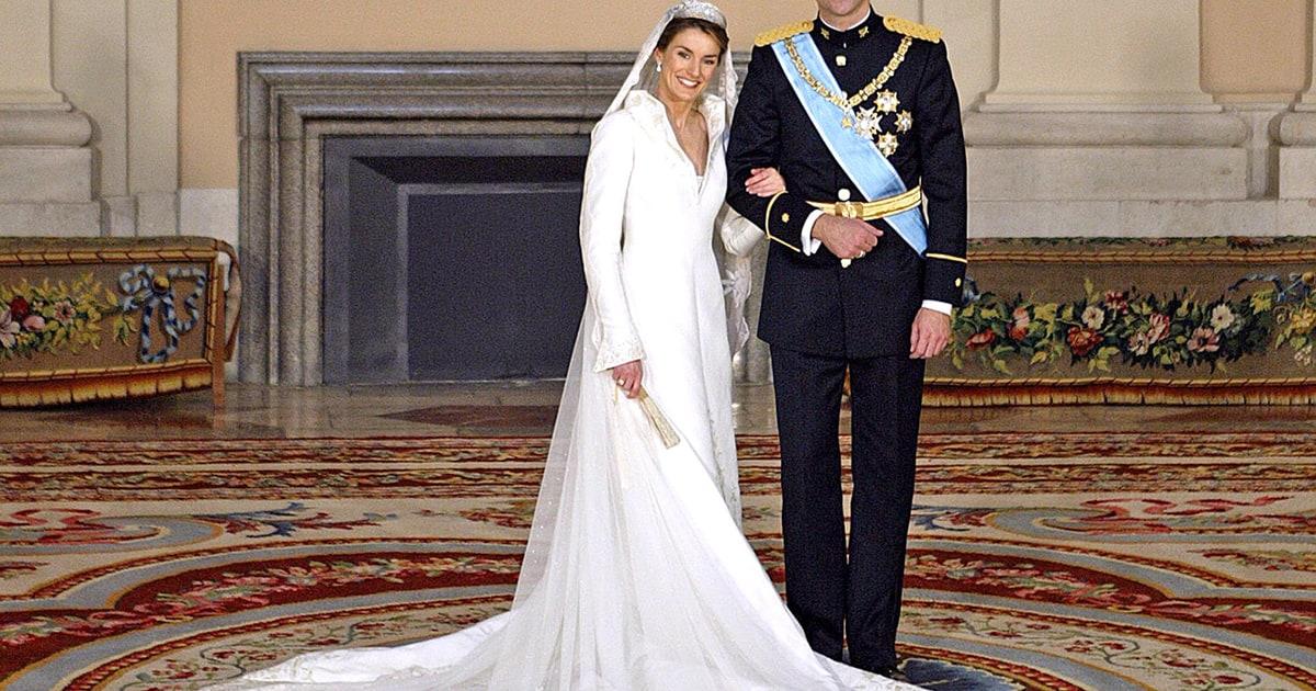 Queen Letizia Of Spain Most Amazing Royal Wedding