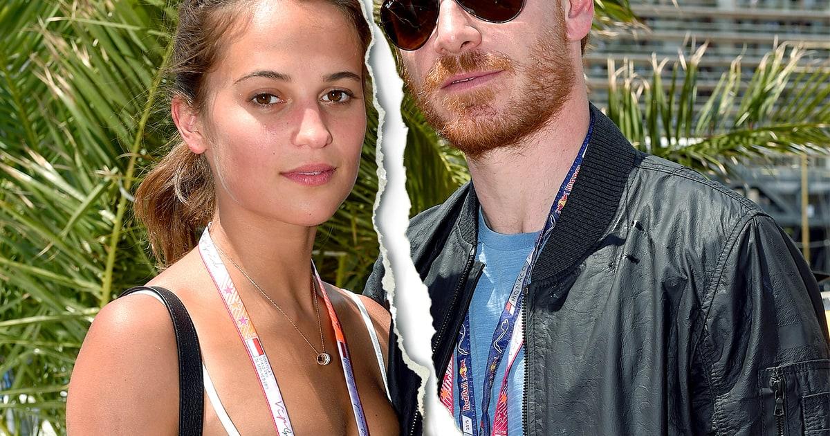 Michael Fassbender Girlfriend Alicia Vikander Split