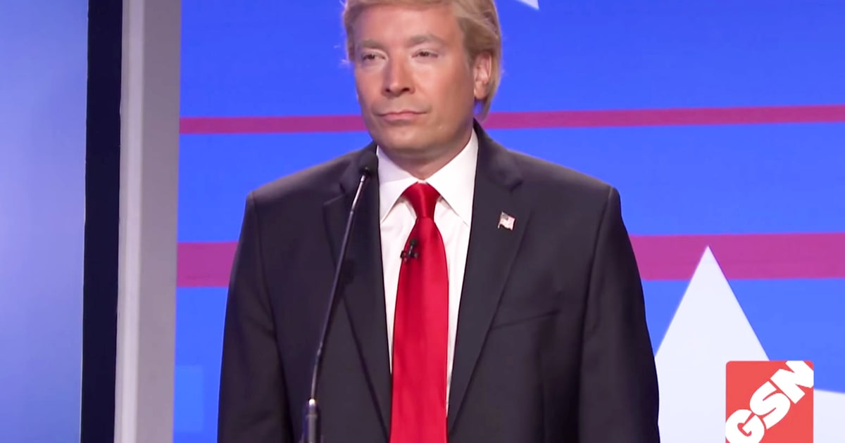Jimmy fallon takes aim at donald trump in debating game sketch us