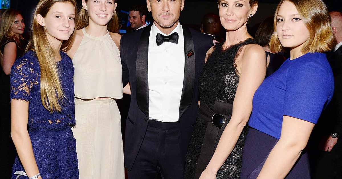 April 2015 faith hill and tim mcgraw 39 s cutest moments for How old are tim mcgraw and faith hill s kids