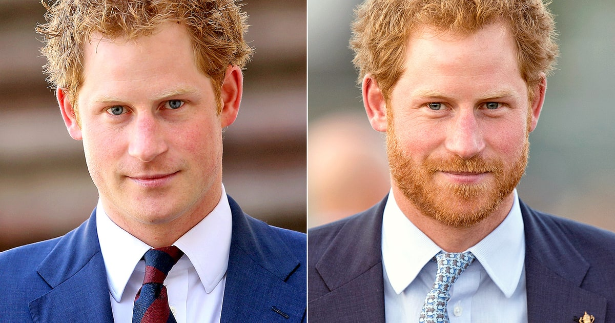 Is prince harry hotter with a beard or clean shaven us weekly