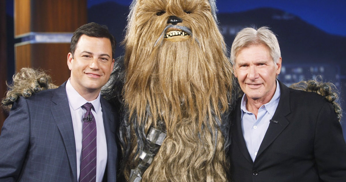 harrison ford joining jimmy kimmel for star wars halloween celebration. Cars Review. Best American Auto & Cars Review