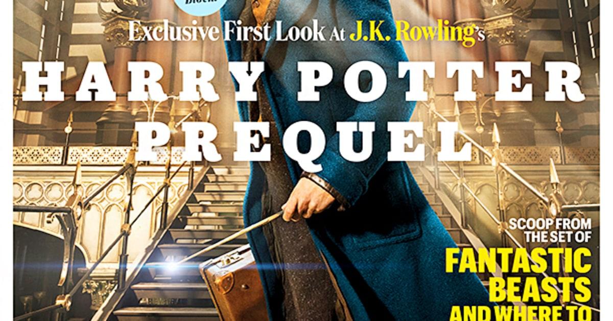 Fantastic Beasts Star Eddie Redmayne Dazzles in Film's First Photo! - Us Weekly