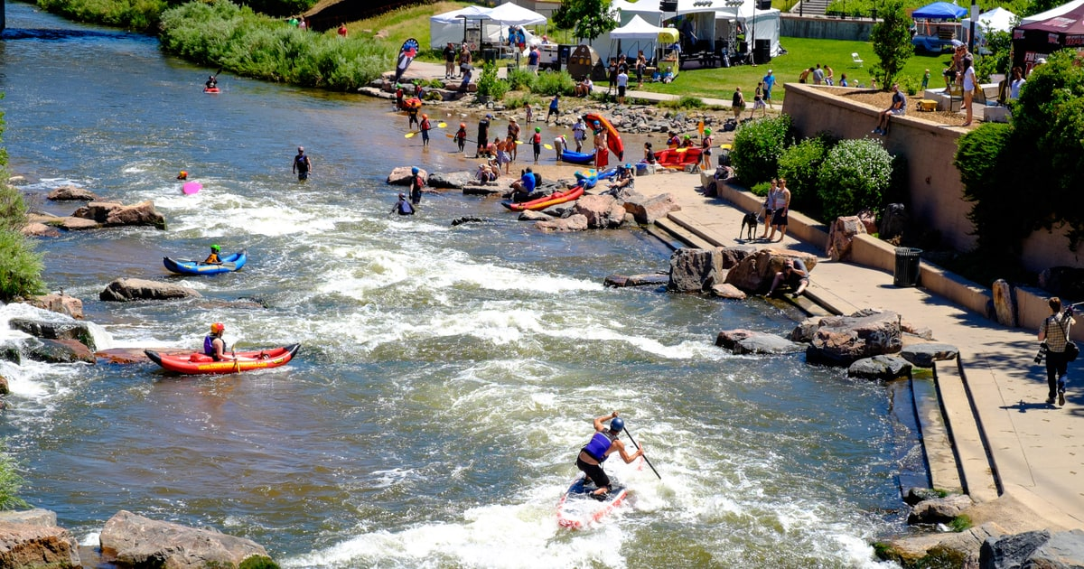 Run The Rapids At Denver's Confluence Park